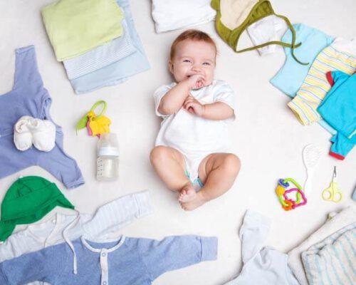 Baby uitzetlijst; wat heb je nodig?