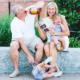 Zwangerschapsaankondiging opa en oma