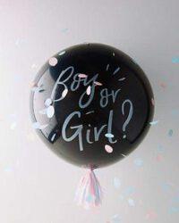 Gender reveal balon