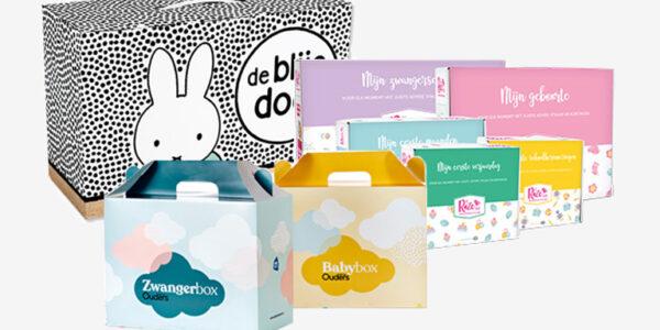 Gratis babydoos en zwangerschapspakketten